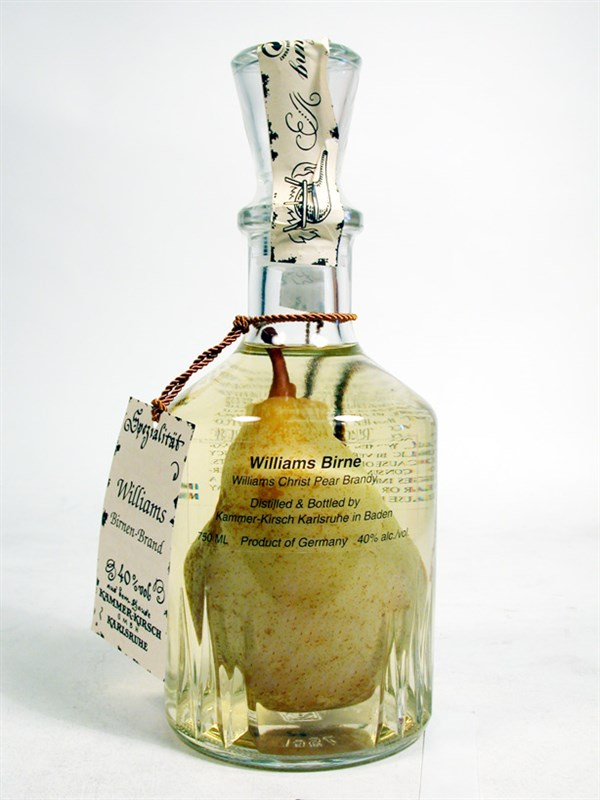 Pear Brandy (Williams Style)