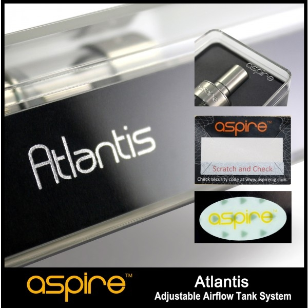 Aspire Atlantis Replacement Coils 0.5ohm 5/PK